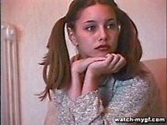 Teen russisches Model macht Anal