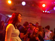 Euro bachelorette engulfing off stripper