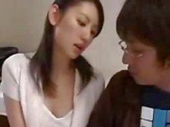 Japon öğretmen ve öğrenci sex scene