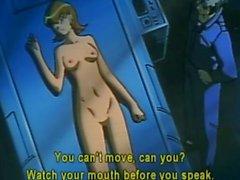 El anime Bondage de con hocico obtiene descargas eléctricas