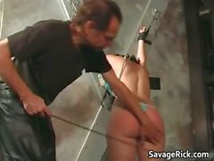 A fine spanking delivered to Giselle part3