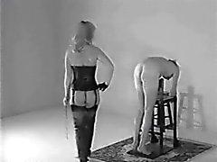 Vicious clássico do vintage - 70 de fêmea que masculina bastões de
