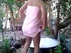 My slutty Thai Wife Sex Scandal #9