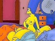 The Simpsons hentai orgier