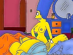 The Simpsons hentai orgier