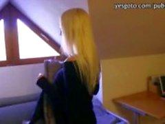 Big teline amatööri Tšekin tyttö täytetyt kovasti nympho muukalainen