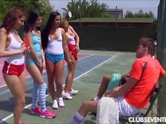 Tennis orgy