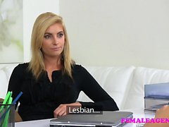 FemaleAgent Typer Agent kärlekar sexig het blondes fig