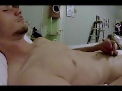 HOT BODY Allan con un enorme COCK Jerk Off Sesión 4