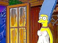 Los Simpson Hentai la cabina del amor