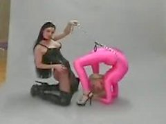 Flexibler lesbische fetish