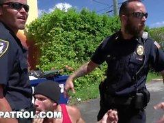 GAYPATROL - Silent Alarm Triggers Cops Att Fuck A Perp (xg16057)