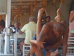 Beach Nammos Ravintola Sexy Dancing