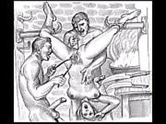 BDSM Porn Skizzen