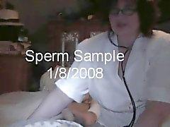 Infirmier réelle Handjob caméra cachée