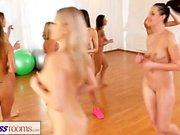 Фитнес-клубы Лесбиянки втроем