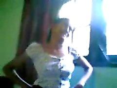 Heiße Nackt nordindischen Mädchen durch ihren BF Badewanne gefilmt