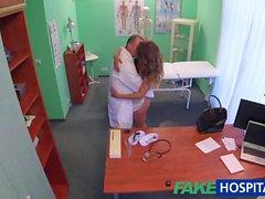 FakeHospital Doktor iş görüşmesi sürtük sikikleri