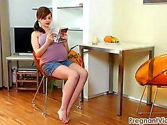 Vicky embarazada 08 por PregnantVicky ( punto) com