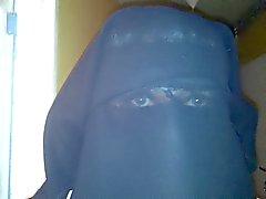 meine Augen in der Niqabs