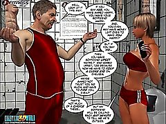 3D Comic. Der Trainer