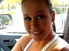 Sensual Masturbação Adolescente No Carro