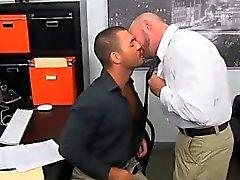 De Twink relaciones sexuales a tope Caliente de Office Zarandear