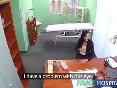 FakeHospital Hasta yeni doktor blowjobs ve lanet verir