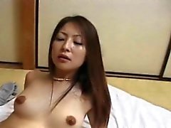 Busty asian babe show her massive tits part1
