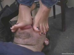 Foot Gag footfetishsanctuary