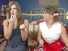 The Cheer Squad Girl and The Vampire Michelle Firestone devours Bianca