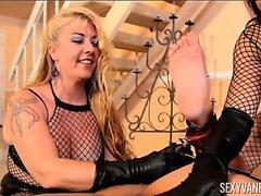 Sexy di Vanessa ed Joclyn Pietra di Sculacciata di Kurt dei Lockwood