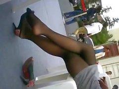 Asian Panthose Nylons Shoeplay Feet Legs Heaven