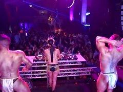 Dj Jade Laroche Topless @ LA Plage de Bordeaux