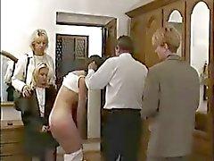 Aluna russo difícil punido pelo professor