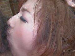 För Aiko i Nagai s en Bukkake Creampie Facefuckfest ( den ocensurerade JAV )