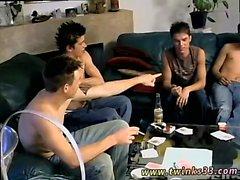 Молодые загорелые гей Twinks чертовски мексиканскую мышц Дикс