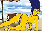 Simpsonsen vs av Futurama Porn parodin