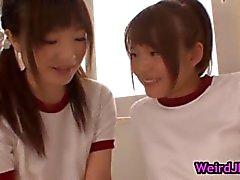 Vacker harune Maeda och megumi shono part4