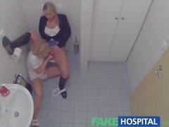 FakeHospital Şanslı hastada hemşireden ve doktor baştan edilmektedir