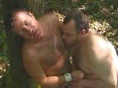 Два гей медведи в лесу