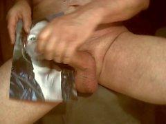 Дань уважения за ORALBITCH - сперма для лица к губам