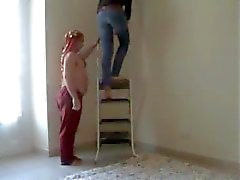 Bir Giantess vs İki Fakirler (sert trampling - beatdown)