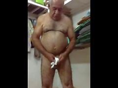 Heiß Arabische Papa blanken