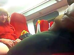 Black Cock op de trein naar Putney - Pussy