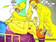 Simpsons Hentai porr parodi