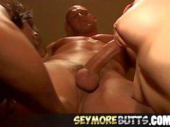 Threesome Playing Anal Action Veronica Jett Jada Fire