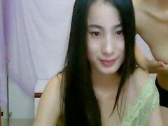 Webcam tytön kolme