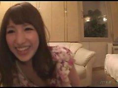 Aasian amatööri nai hänen karvainen Japanin pussy