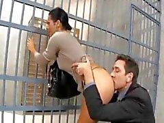 börtönben un látogató feleséget seggbekurja un